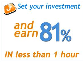 Set your investment